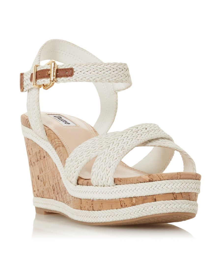Image for Dune Ladies KELISA Braided Upper High Wedge Heel Sandal