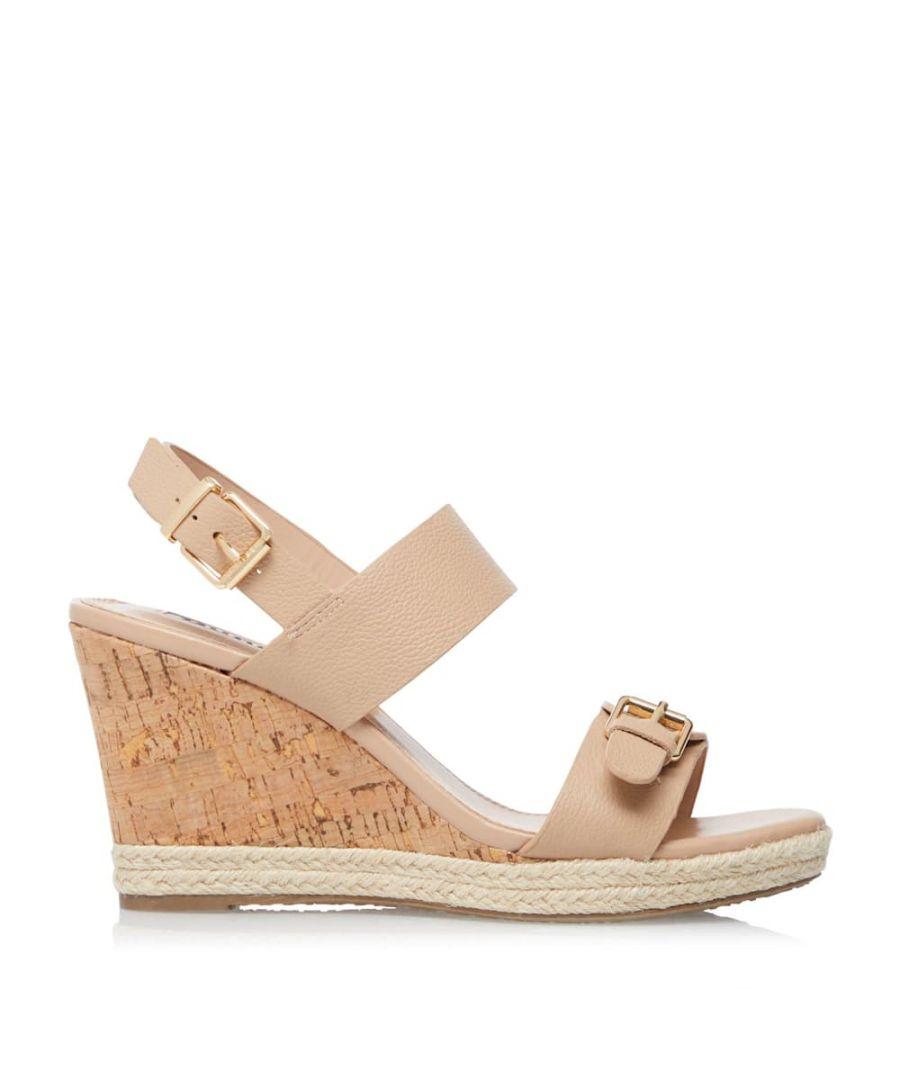Image for Dune Ladies KENDYLL Mid-Wedge Heel Sandals