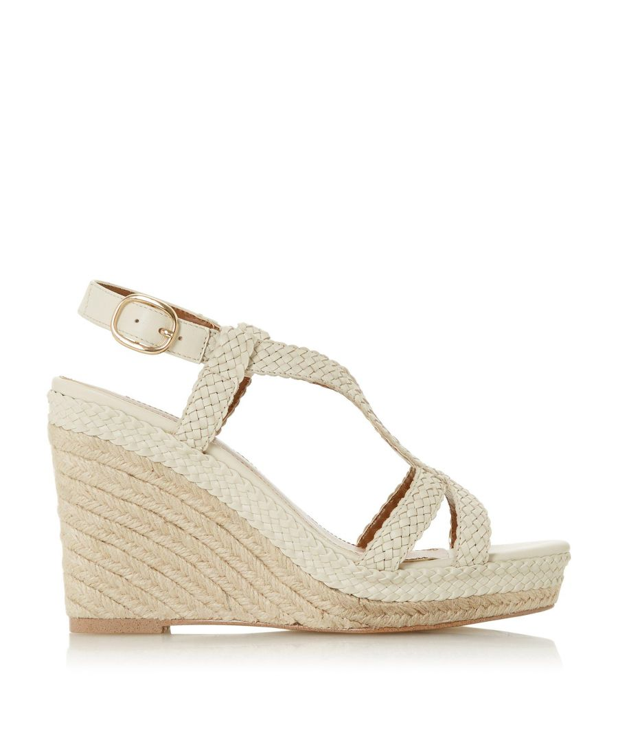 Image for Dune Ladies KEW Espadrille Wedge Heel Sandals