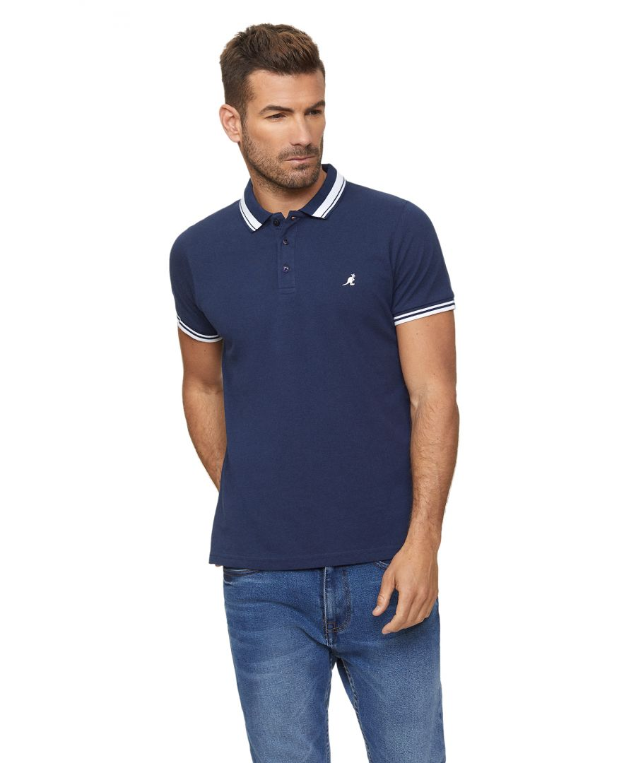 Image for Vern Short Sleeve Polo Shirt