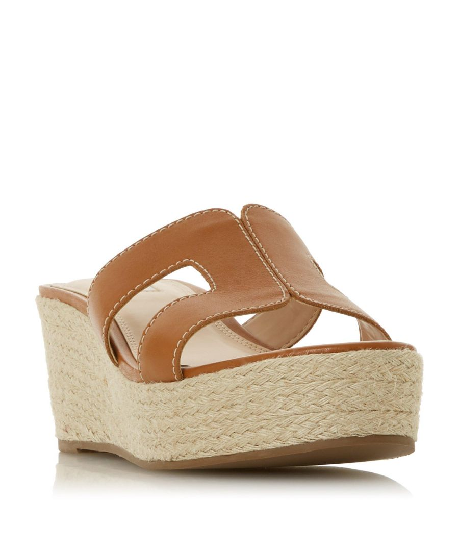 Image for Dune Ladies KIANNI Wedge Heel Slider Sandal