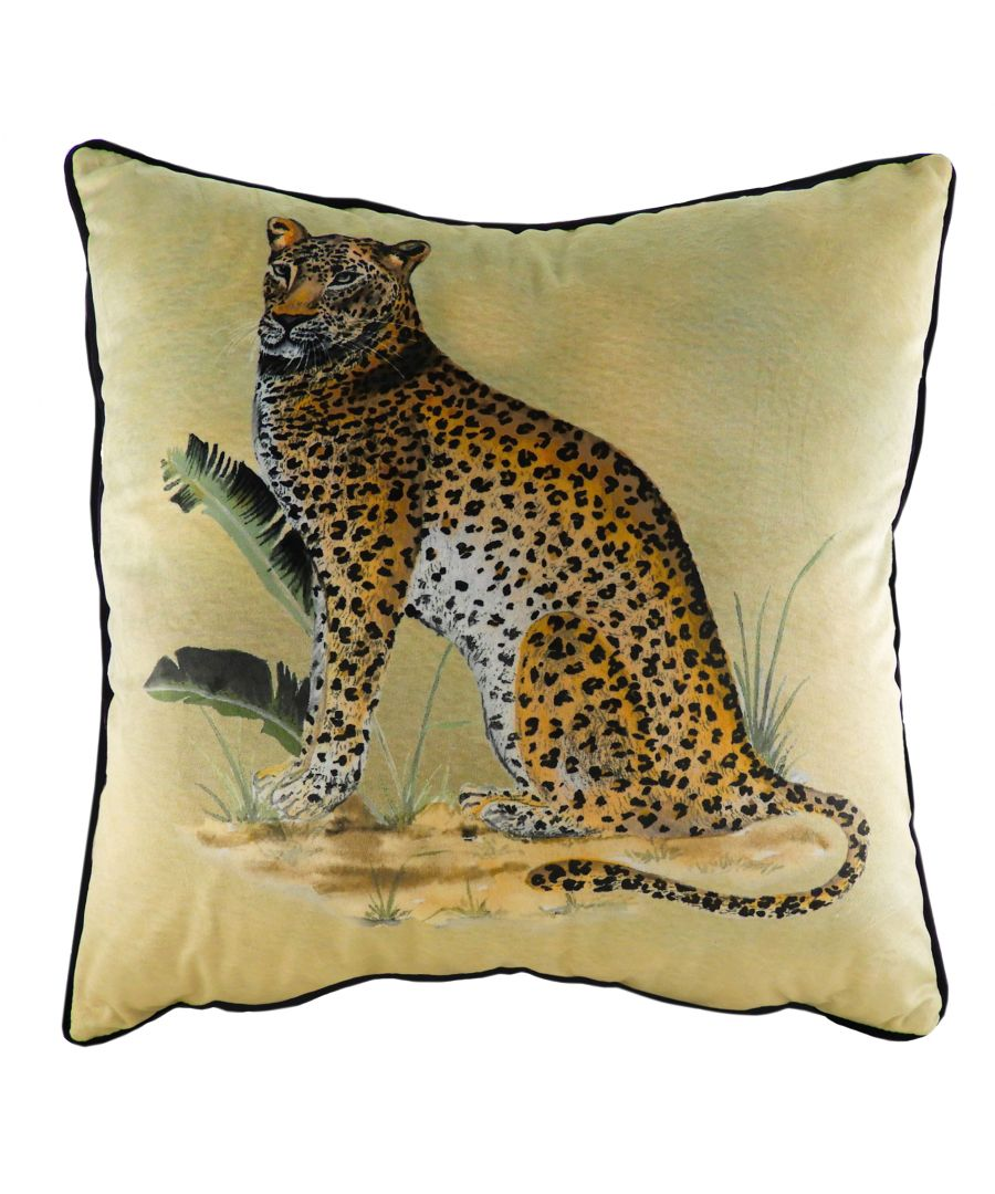 Image for Kibale Leopard Cushion