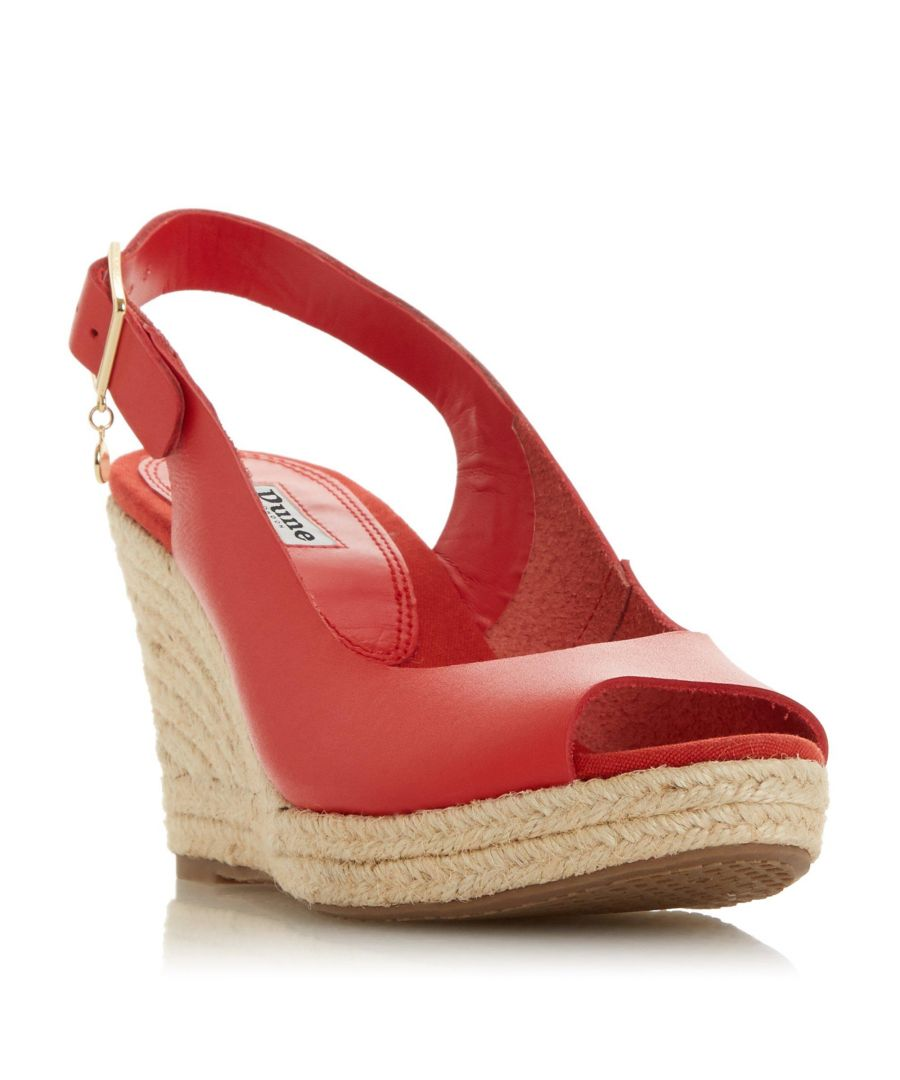 Image for Dune Ladies KICKS Espadrille Wedge Heel Sandal