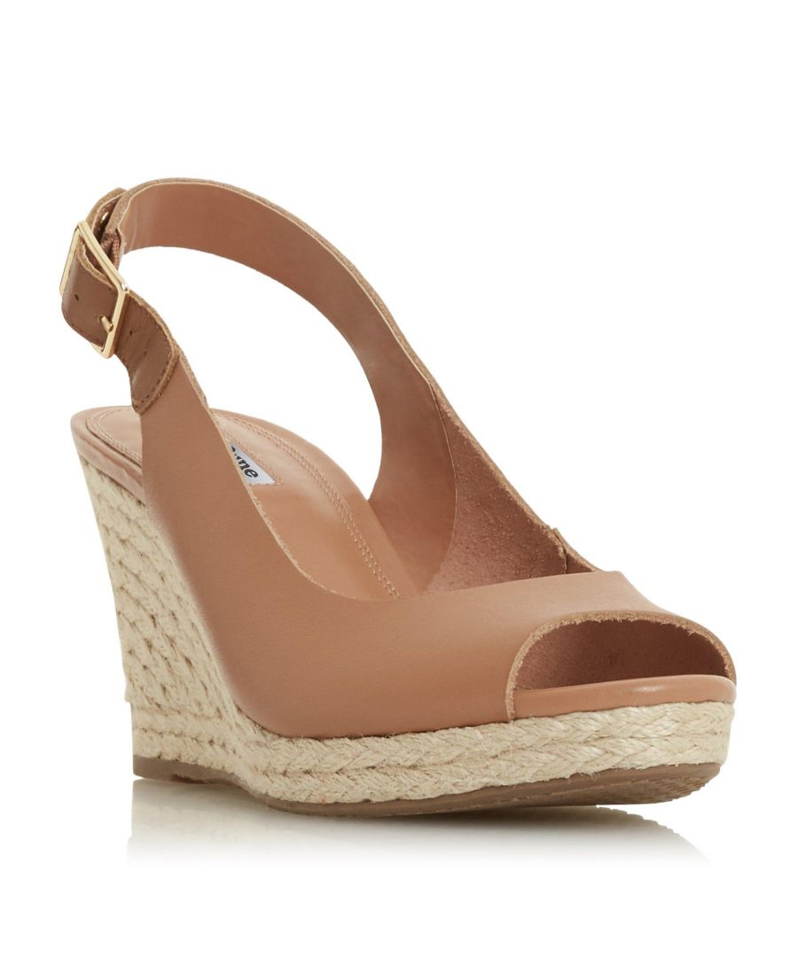 Image for Dune Ladies KICKS 2 Espadrille Wedge Heel Sandal