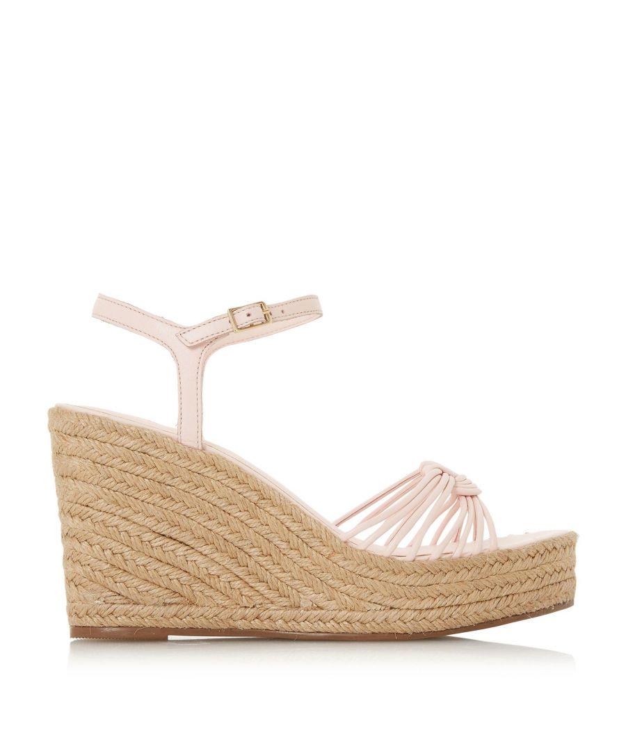 Image for Dune Ladies KIKII Knot Detail Wedge Sandal