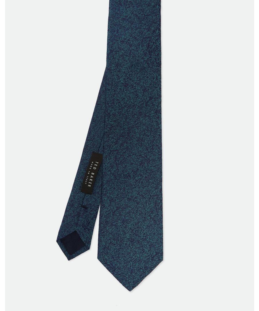 Image for Ted Baker Kistt Sparkly Tie, Teal Blue
