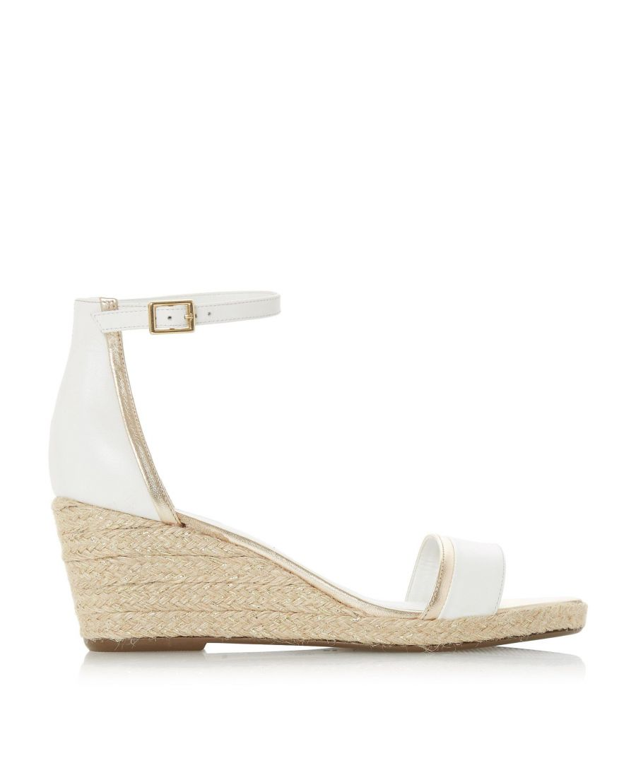 Image for Dune Ladies KLARICE Espadrille Mid-Wedge Sandals