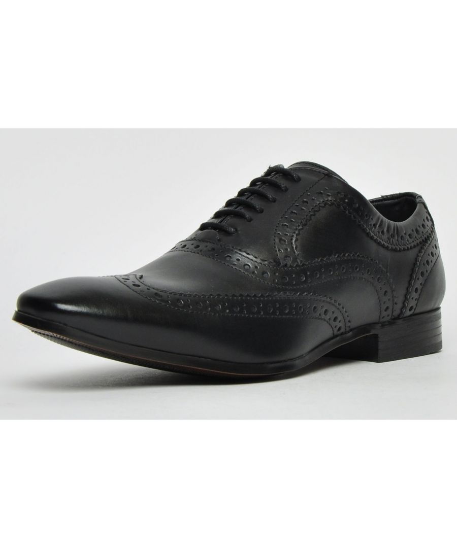 Image for Ikon Classic Anderson Leather Brogue Mens