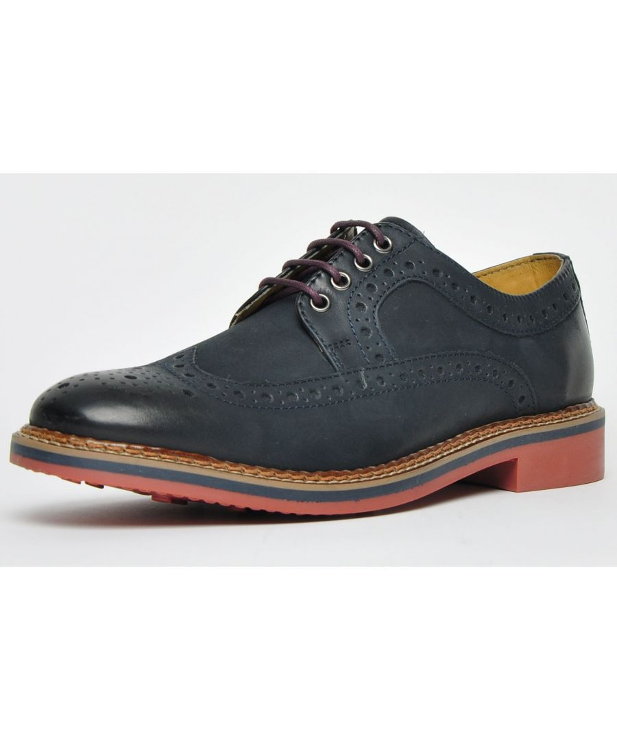 Image for Ikon Classic Barley Leather Brogue Mens