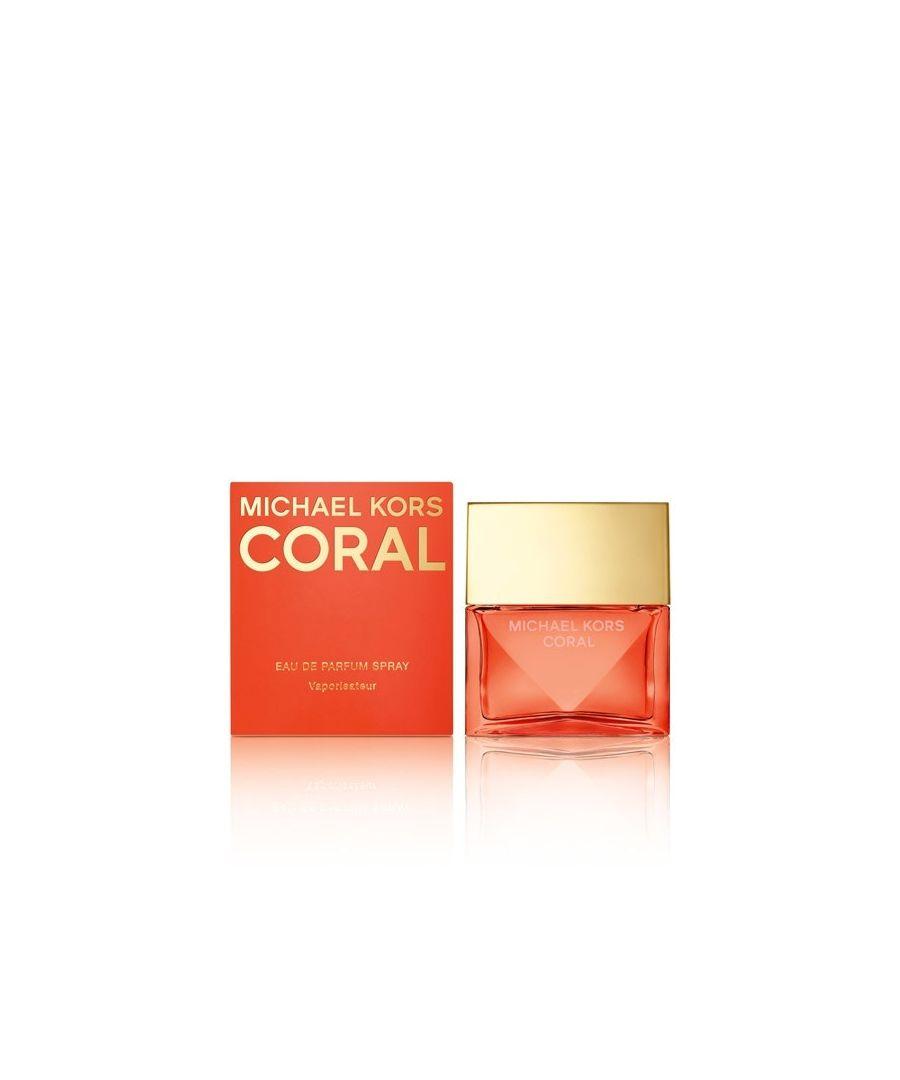 Image for Michael Kors Coral Eau De Parfum Spray 30Ml