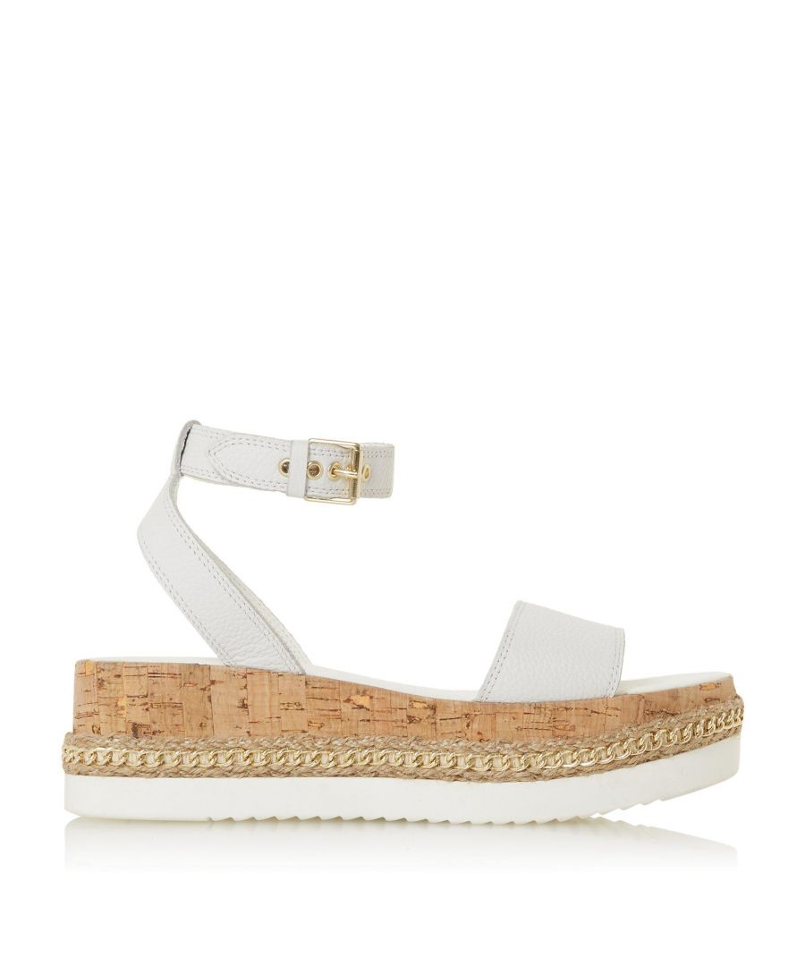 Image for Dune Ladies KREST Chain Detail Flatform Sandals