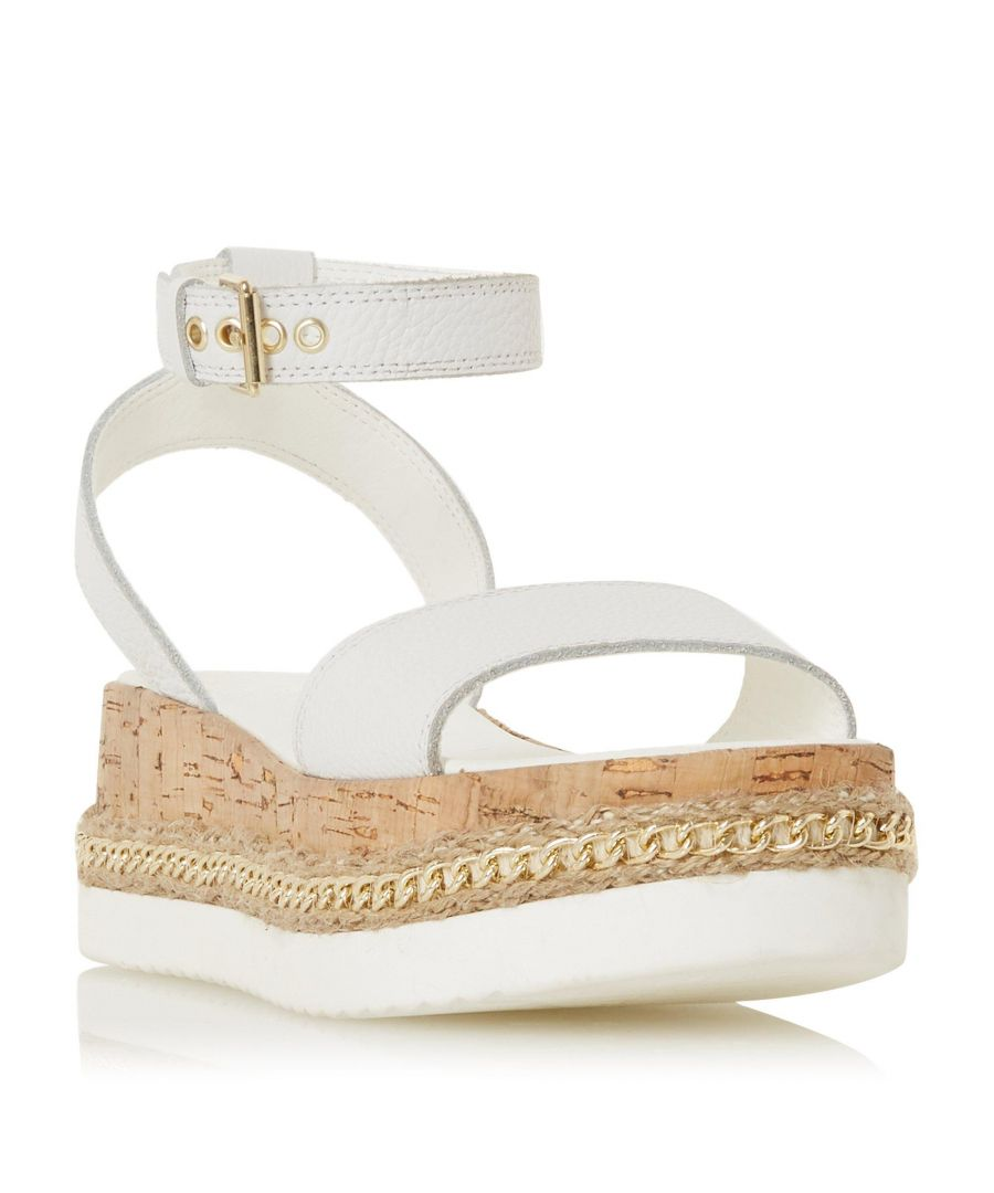 Image for Dune Ladies KREST Chain Detail Flatform Sandal