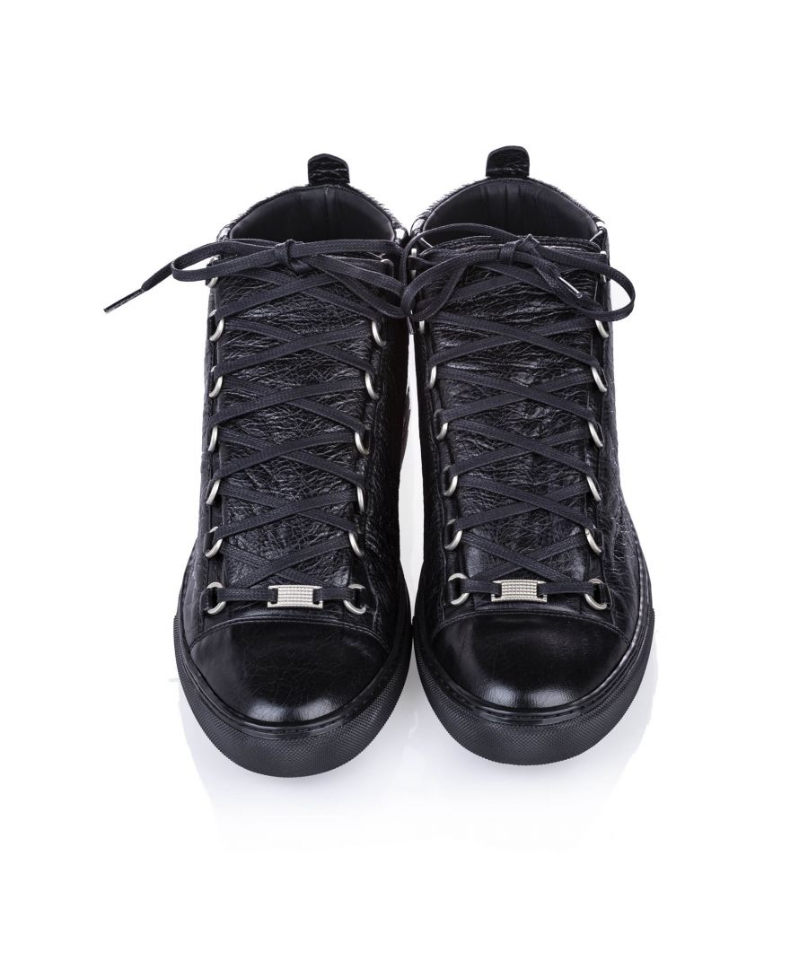 Image for Balenciaga Classic Arena High Top Leather Sneaker