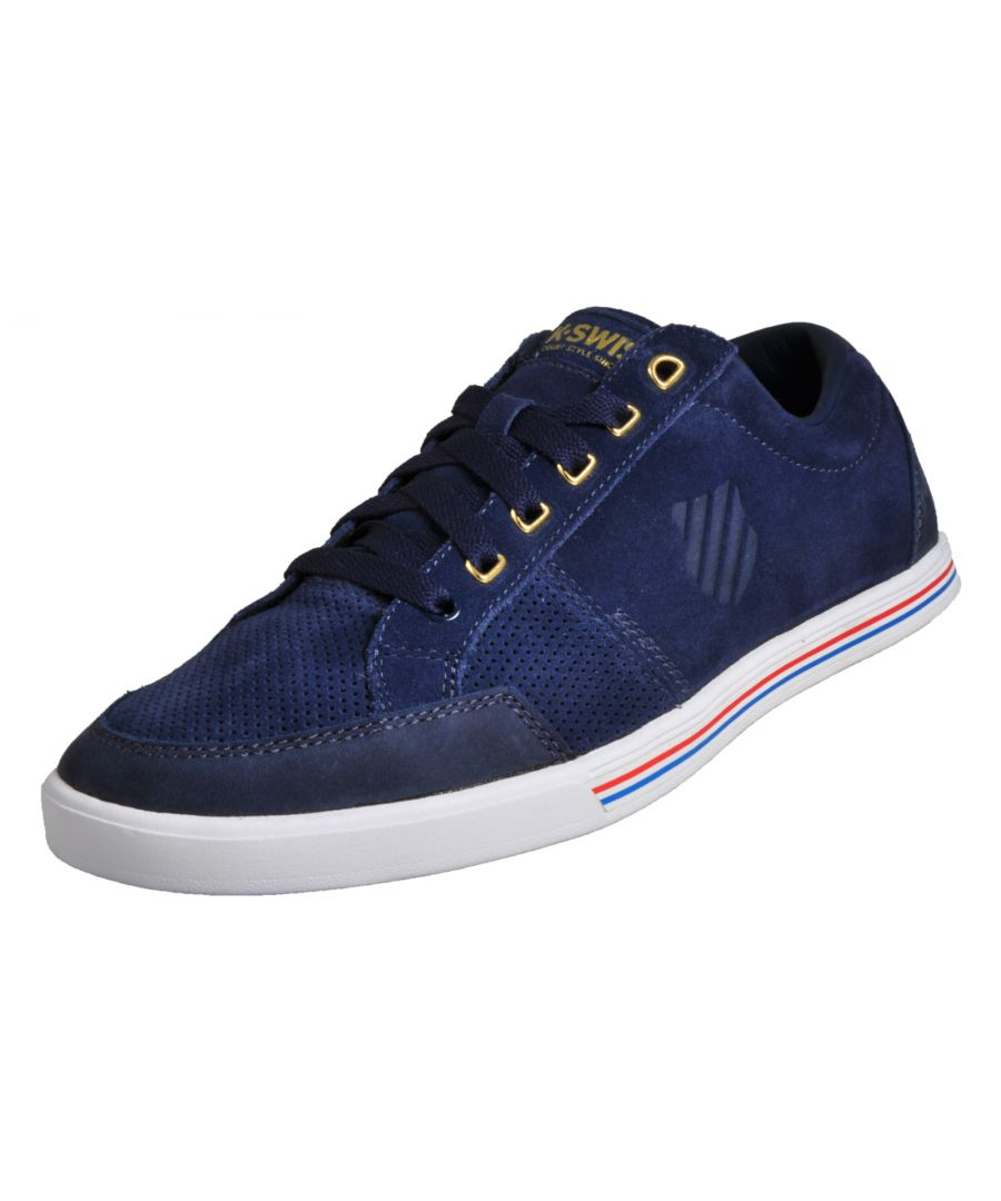 Image for K Swiss Match Court Suede Mens
