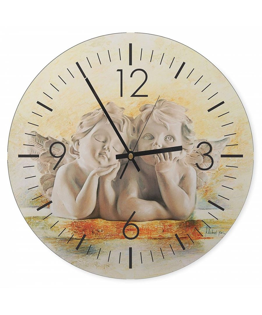 Image for Wall Clock - Time Of The Little Angels Cm. 40x40