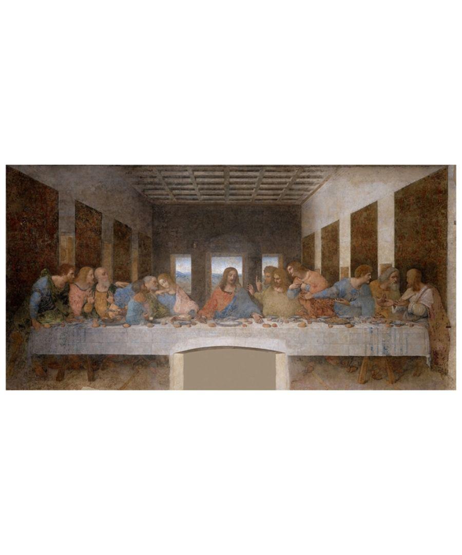 Image for Canvas Print - The Last Supper - Leonardo Da Vinci Cm. 50x100