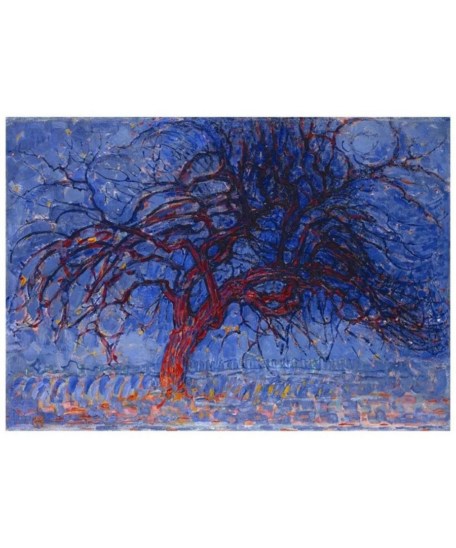 Image for Canvas Print - The Red Tree - Piet Mondrian Cm. 80x100