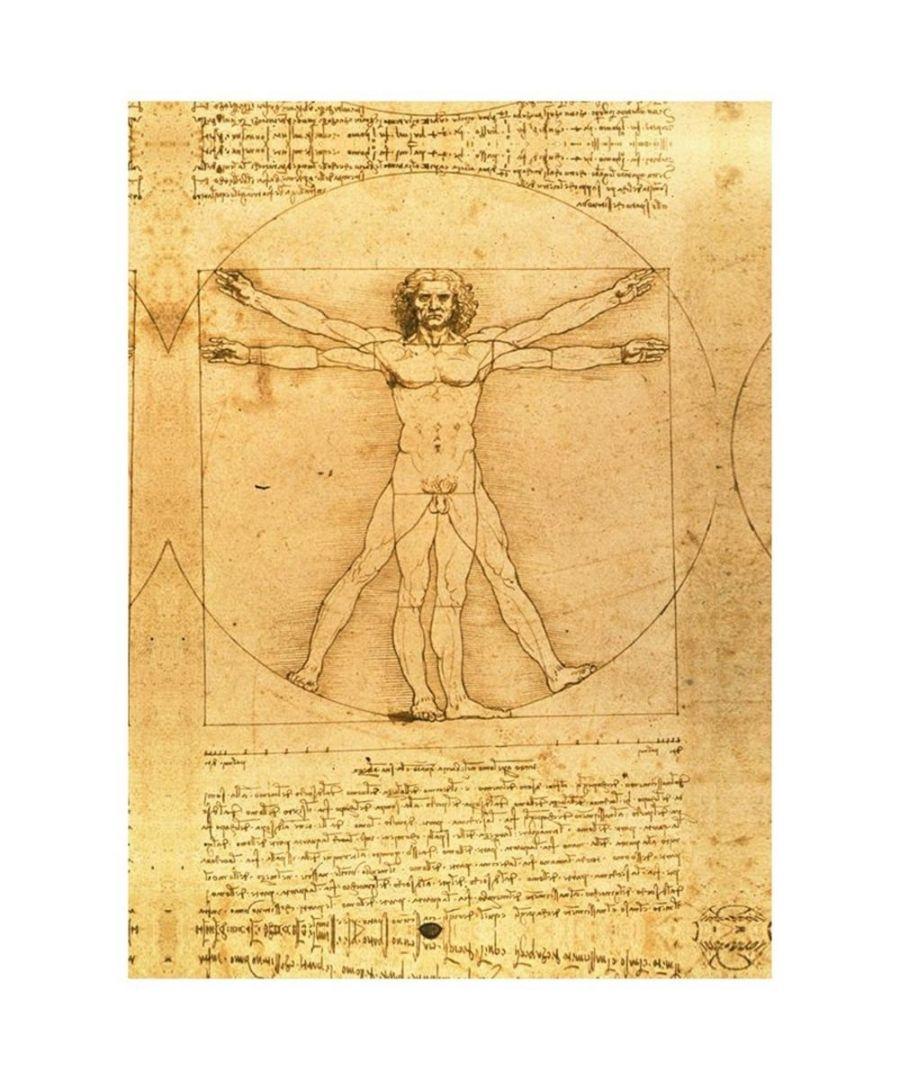 Image for Canvas Print - Self Portrait - Leonardo Da Vinci Cm. 60x90
