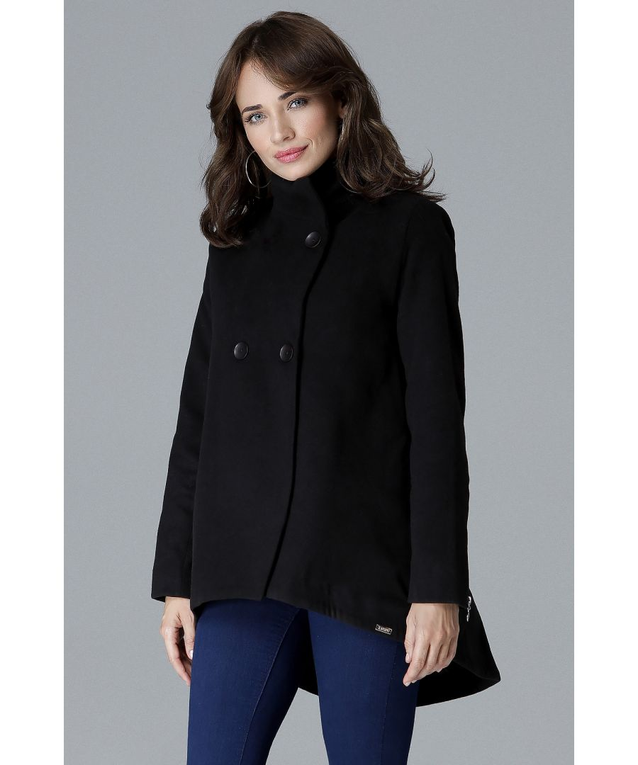 Image for Short Jacket With Double Fold On The Back