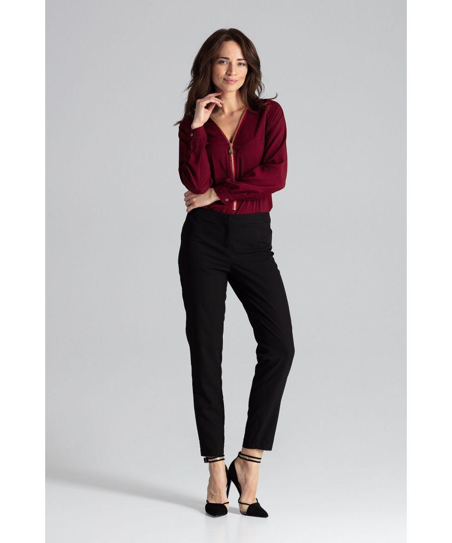 Image for Zipper top