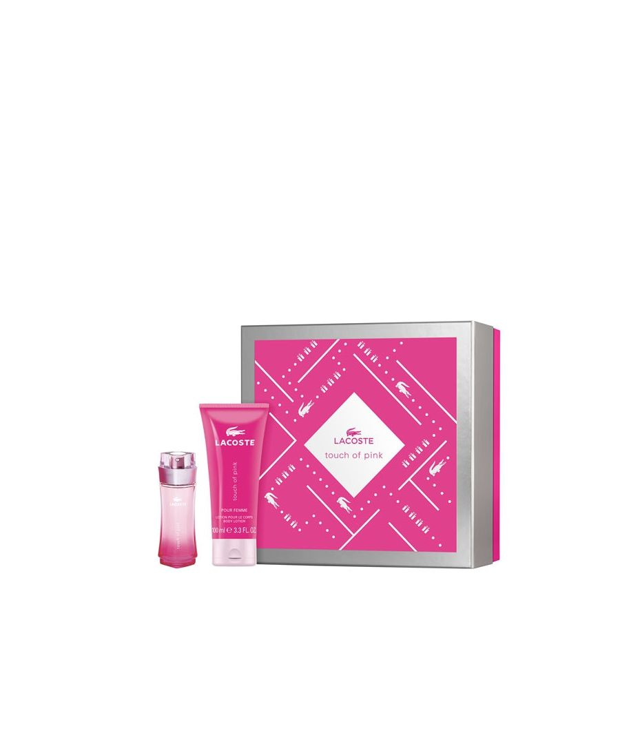 Image for Lacoste Touch Of Pink Gift Set Eau De Toilette Spray 30Ml