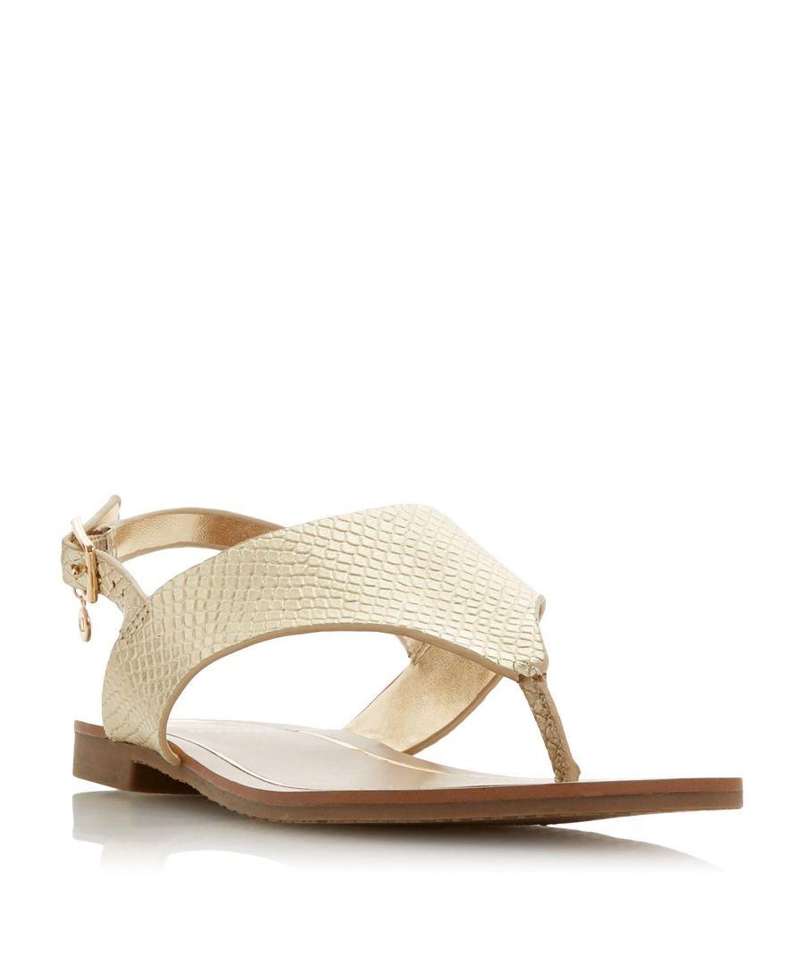 Image for Dune Ladies LADLEY Leather Sandal