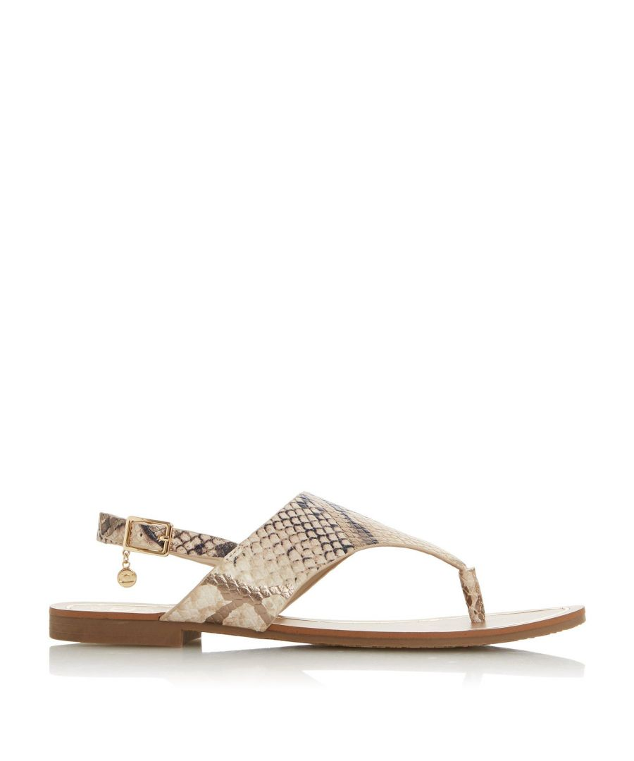 Image for Dune Ladies LADLEY Leather Sandals