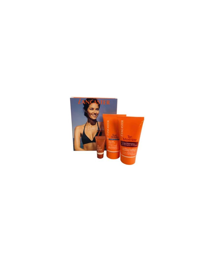 Image for LANCASTER SUN TAN LOTION 50ML, AFTER SUN MOISTURE & FACE BRONZER 3ML