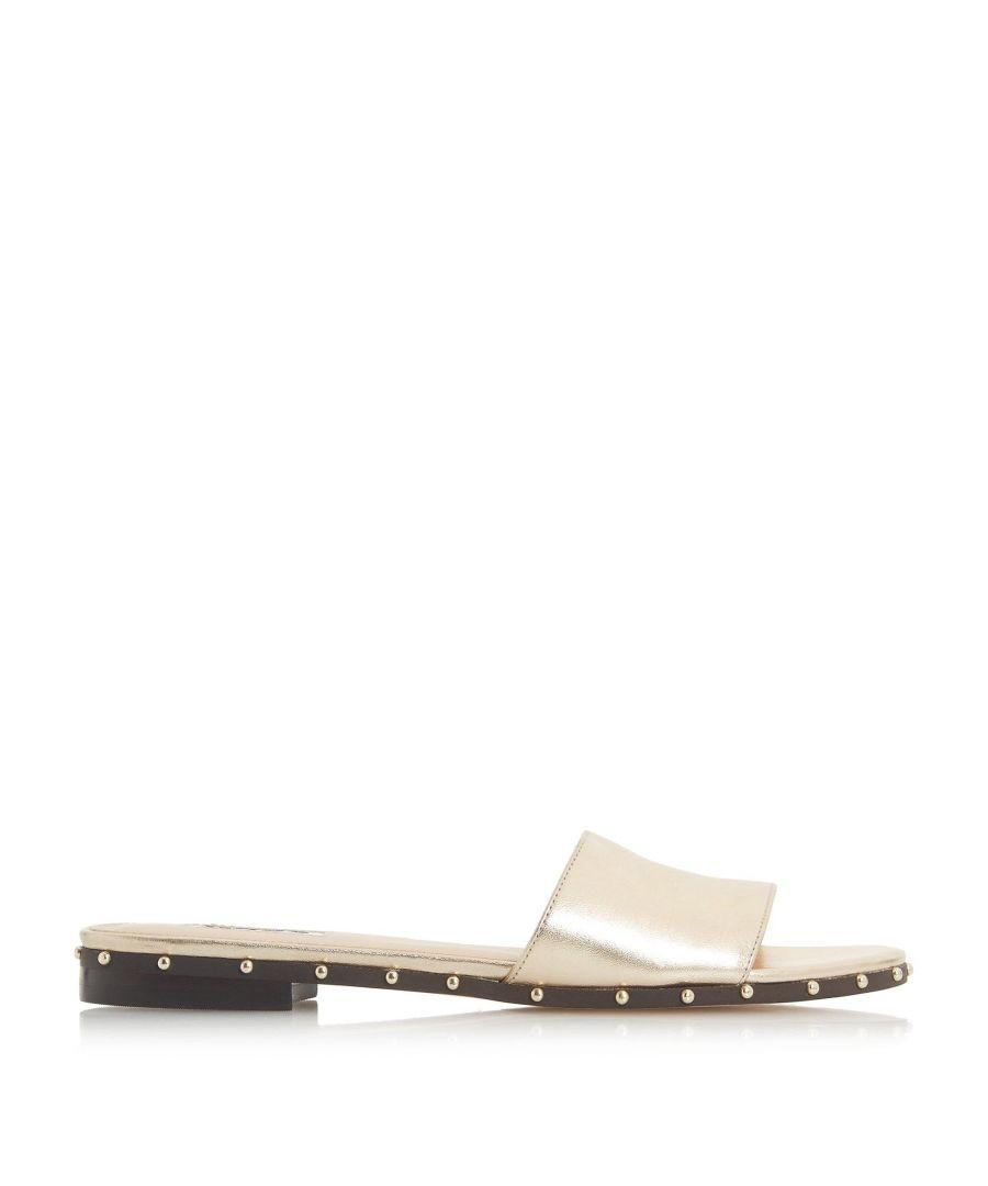 Image for Dune Ladies LANES Studded Slider Sandals