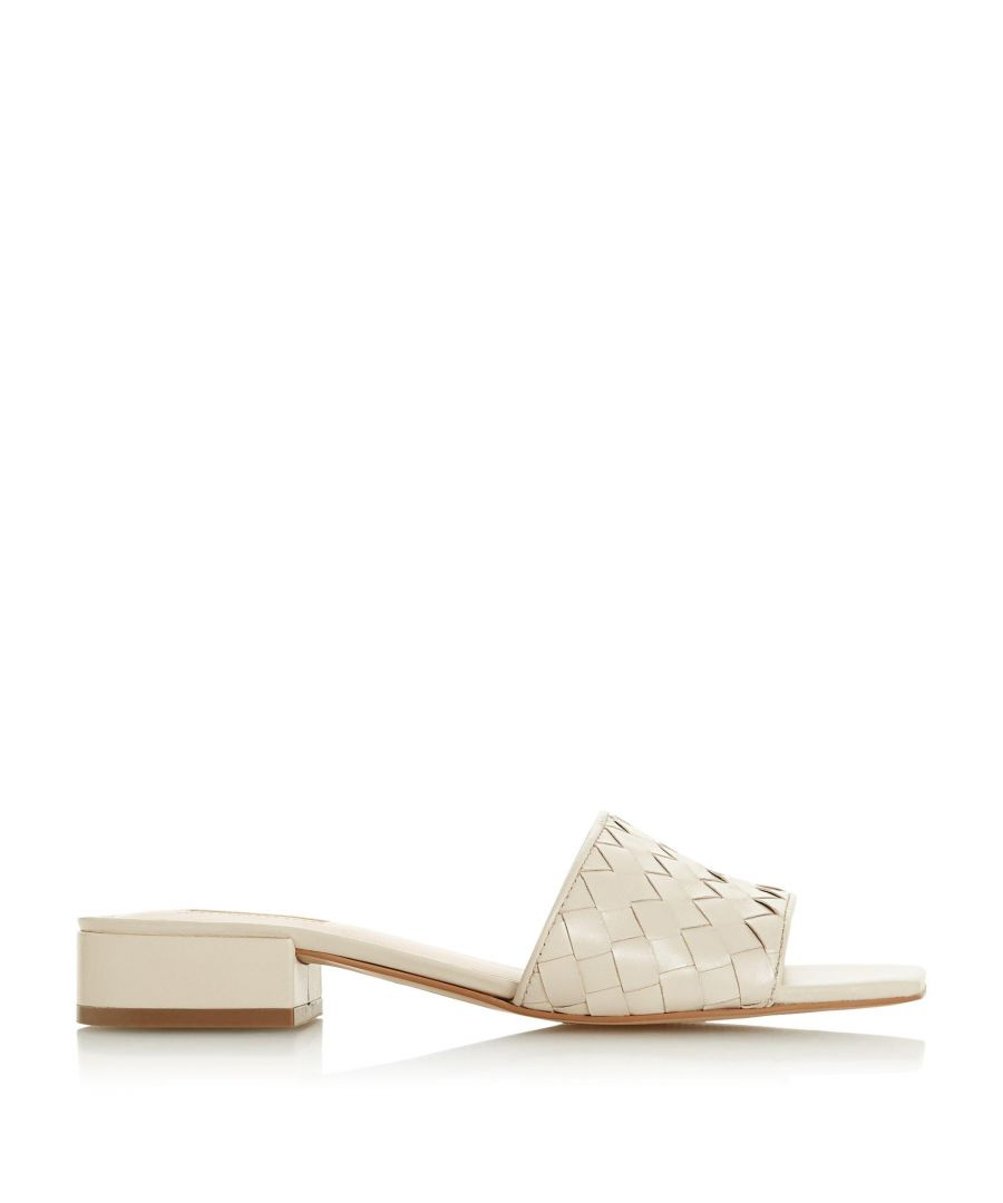 Image for Dune Ladies LANNDON Woven Detail Flat Mule