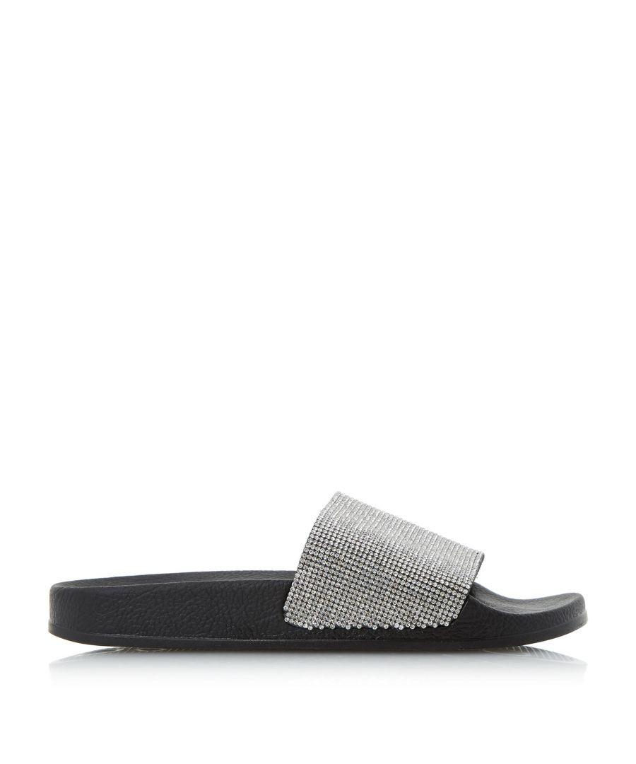 Image for Dune Ladies LAS VEGAS Diamante Slider Sandals