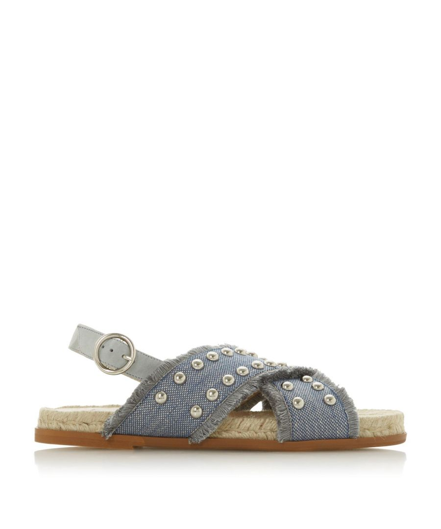 Image for Dune Ladies LATEEN DB Studded Cross Strap Sandals