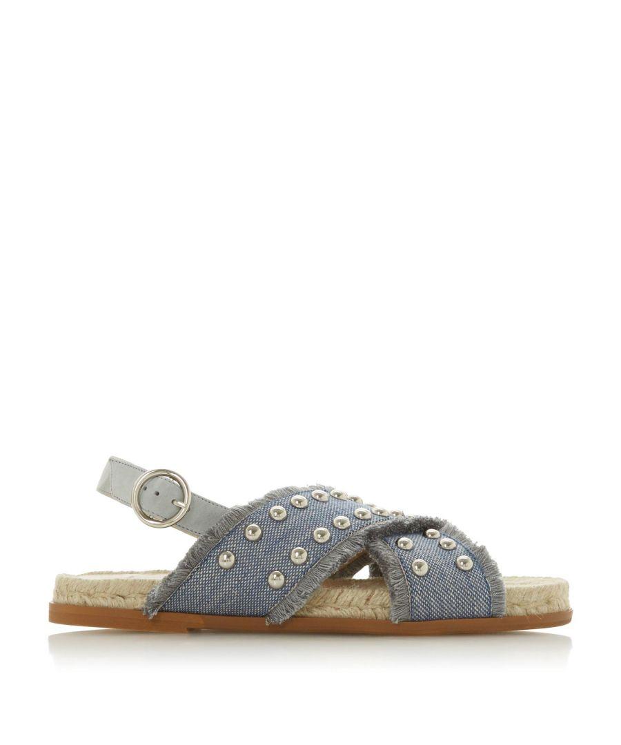 Image for Dune Ladies LATEEN DB Studded Cross Strap Sandal
