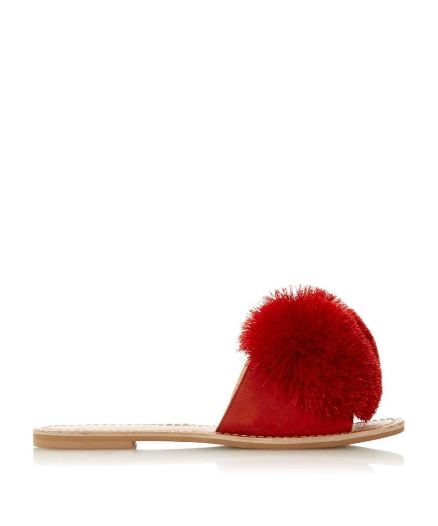 Image for Dune Ladies LATINO Pom Pom Slider Sandals