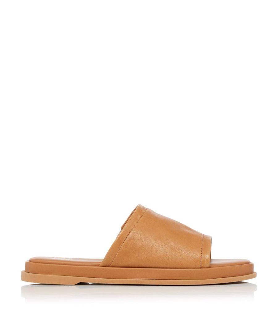Image for Dune Ladies LAURENA Soft Leather Slides