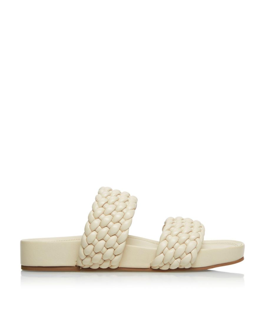 Image for Dune Ladies LAYLOW Double Woven Strap Sliders