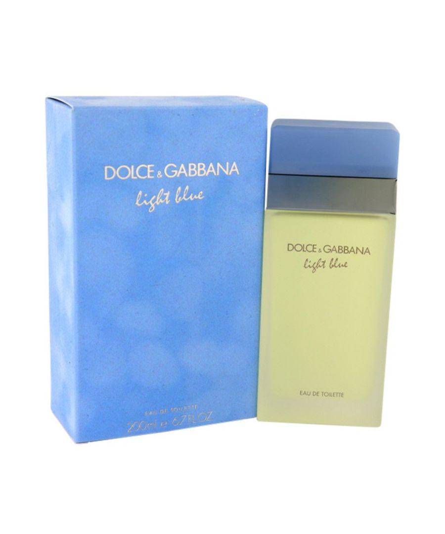 Image for Light Blue Eau De Toilette Spray By Dolce & Gabbana 200 ml