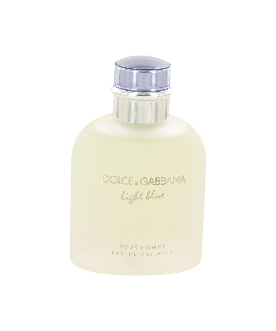 Image for Light Blue Eau De Toilette Spray (Tester) By Dolce & Gabbana 125 ml