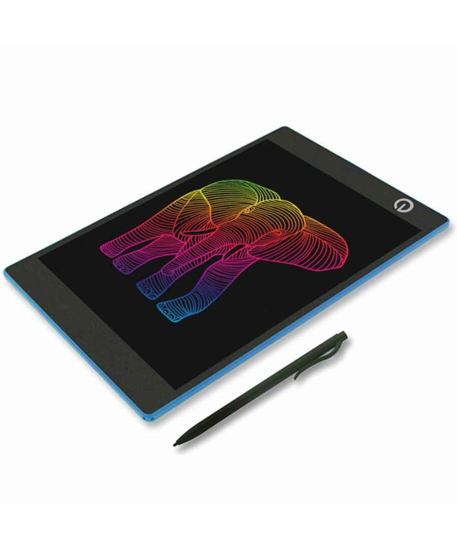 Image for Doodle LCD Writer Colour Screen 10 Inches Blue