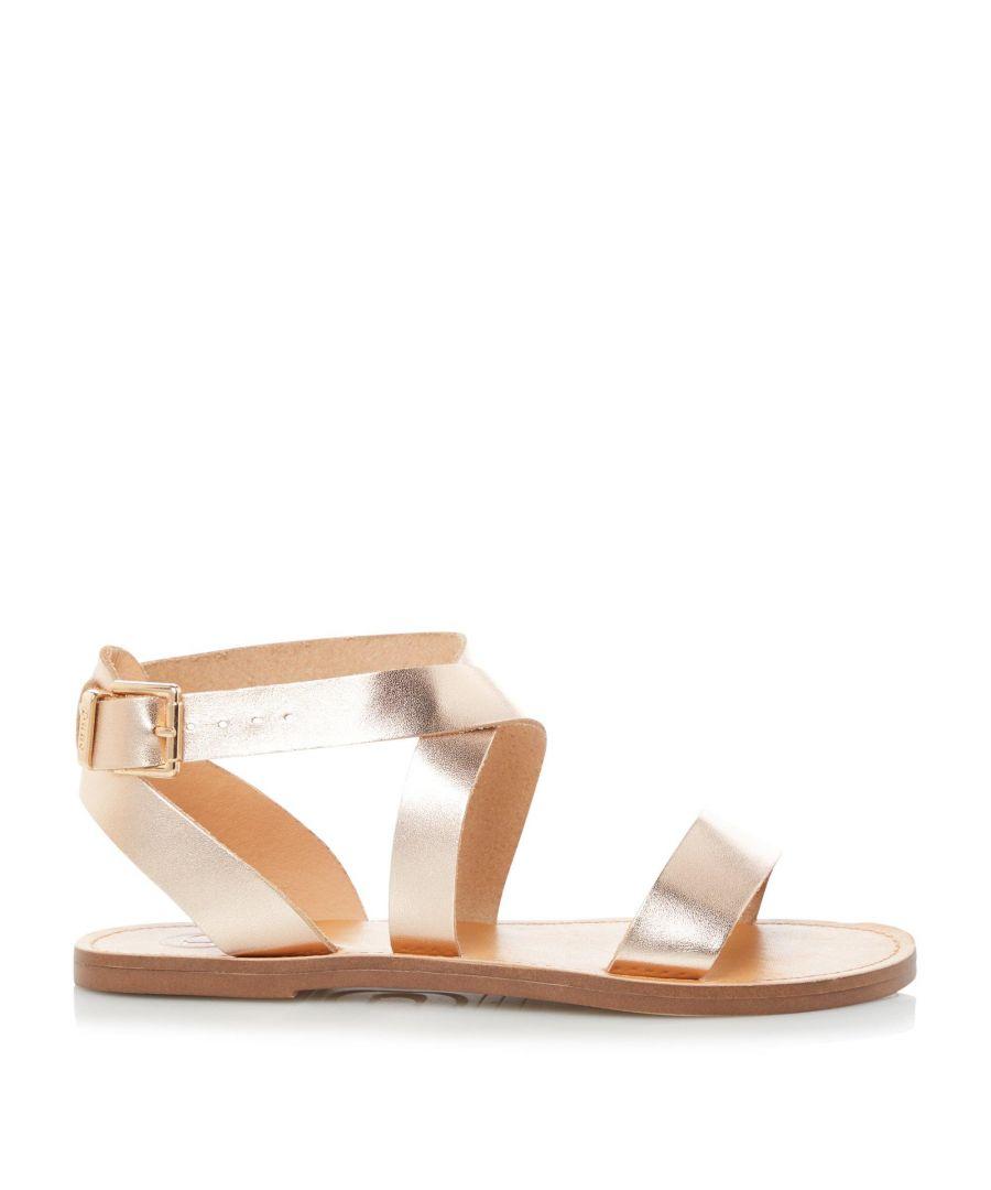 Image for Dune Ladies LEELAH Cross Over Strap Sandals