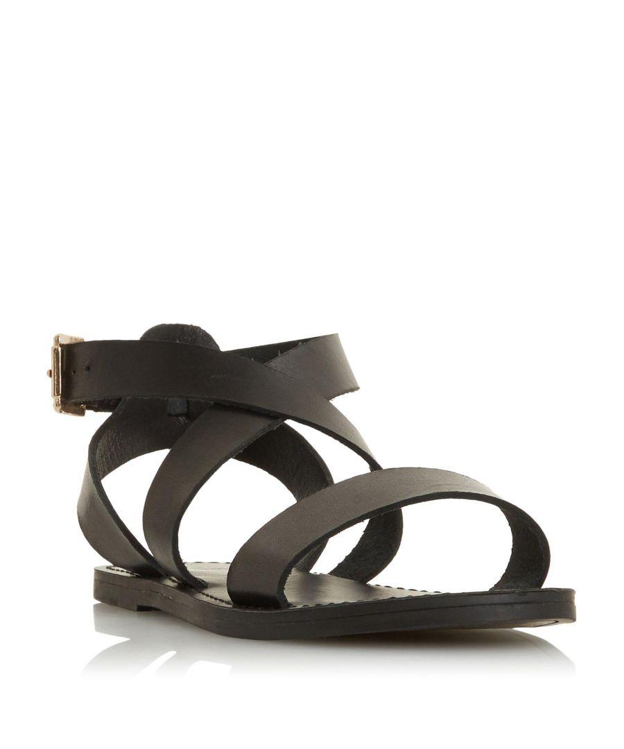 Image for Dune Ladies LEELAH Cross Over Strap Sandal