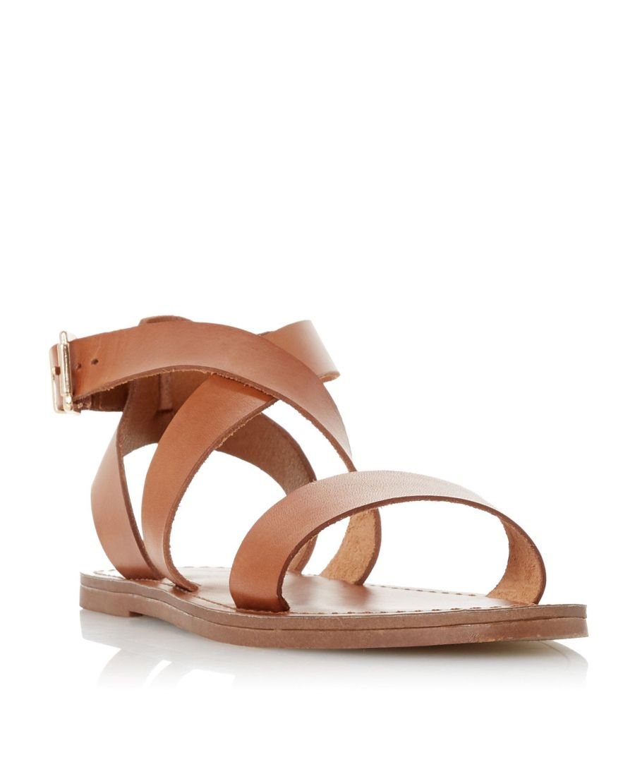 Image for Dune Ladies LEELAH Cross Over Strap Sandal