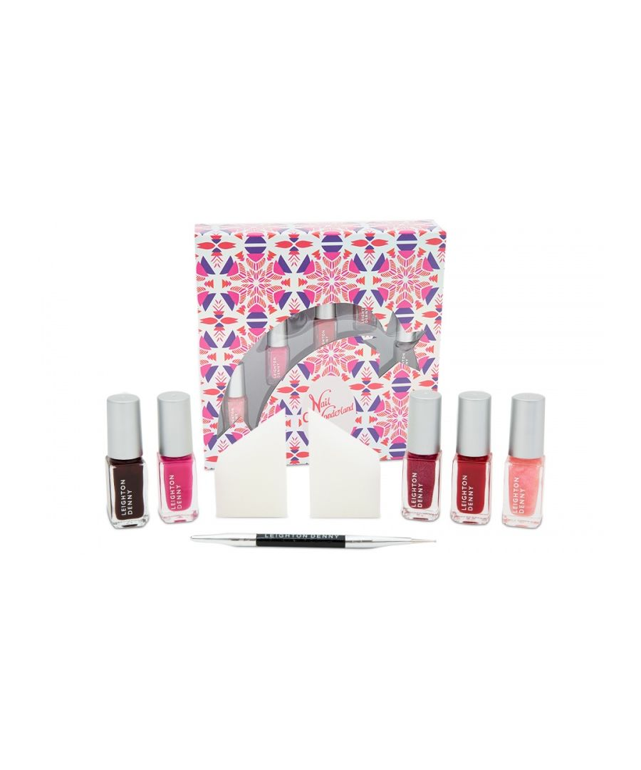 Image for Leighton Denny Nail WonderLand - Pinks/Reds