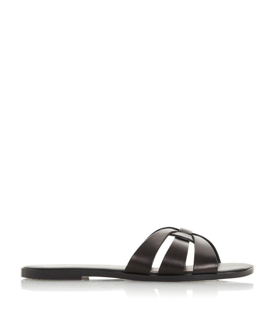 Image for Dune Ladies LEMONIA Woven Strap Slider Sandals