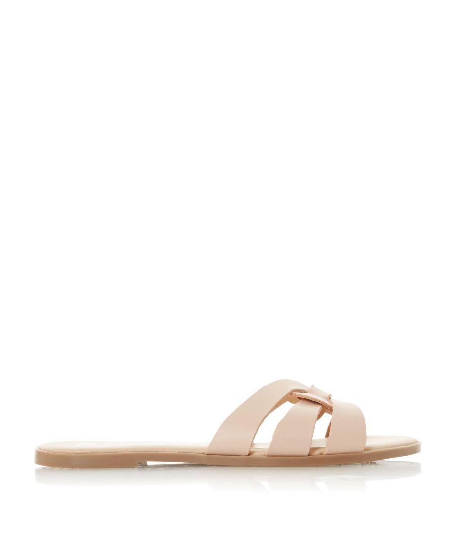 Image for Dune Ladies LEMONIA Woven Strap Slider Sandal