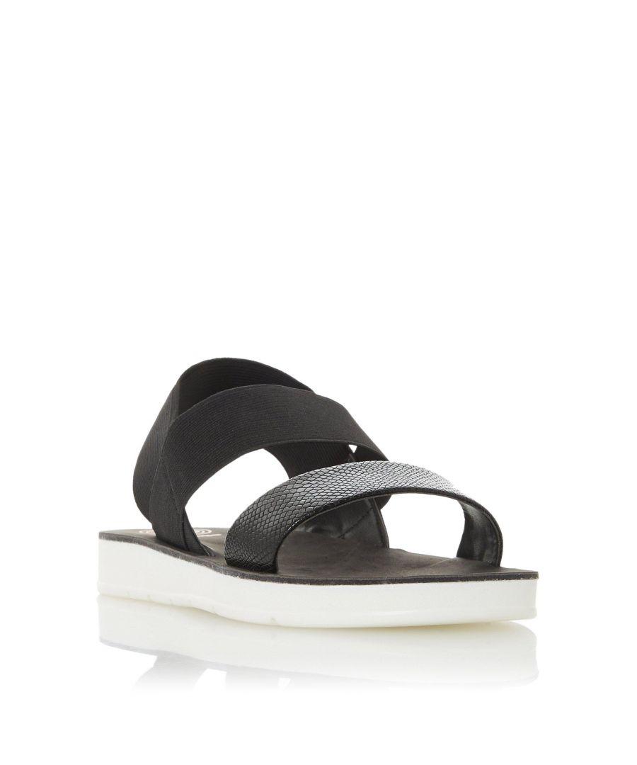 Image for Dune Ladies LENIA Double Strap Slingback Sandal