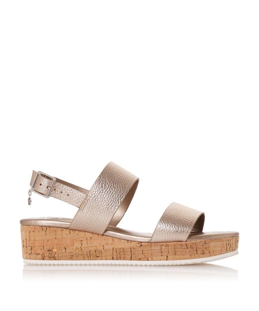 Image for Dune Ladies LENNIIE Double Strap Flatform Sandal