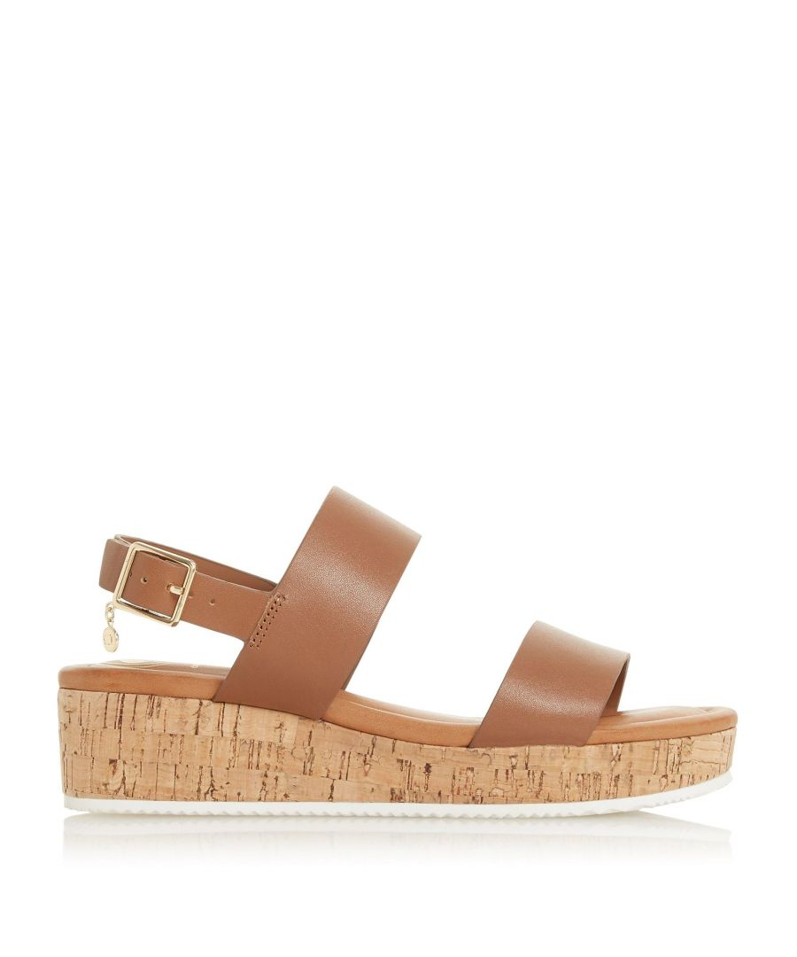 Image for Dune Ladies LENNIIE Double Strap Flatform Sandals