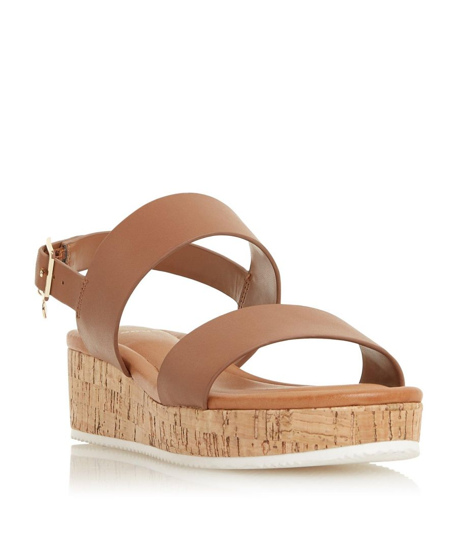 Image for Dune Ladies LENNIIE Double Strap Flatform Sandal