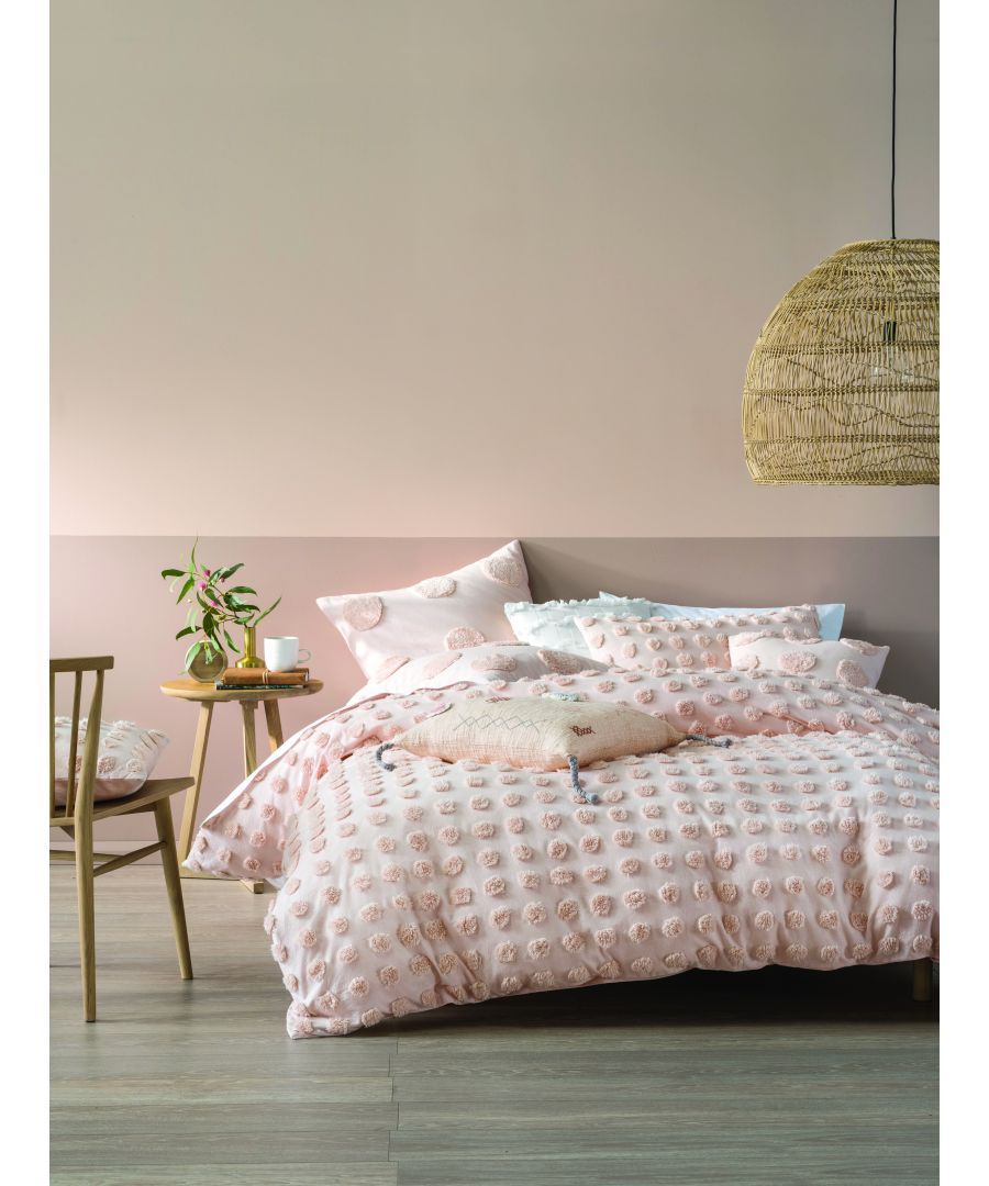 Image for Lh Haze SKing Duvet Set Peach